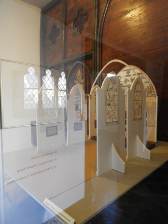 maquette foto hal vitrine